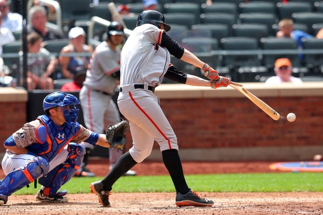 Mets vs. Giants - 6/9/15 MLB Pick, Odds, and Prediction
