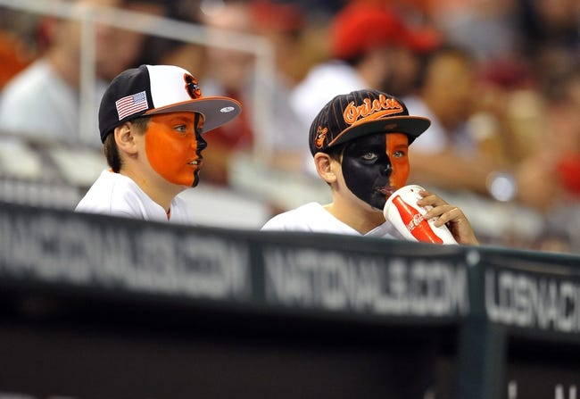 Orioles vs. Nationals - 7/10/15 MLB Pick, Odds, and Prediction