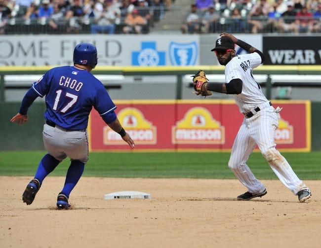Rangers vs. White Sox - 6/2/15 MLB Pick, Odds, and Prediction