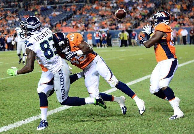 Seattle Seahawks vs. Denver Broncos Free Pick, Odds, Prediction 9/21/14