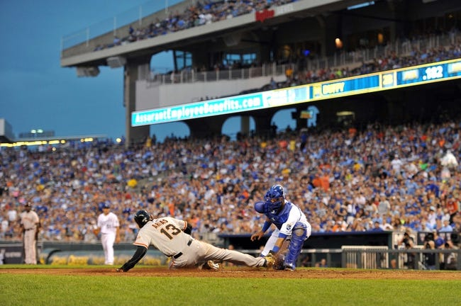 Kansas City Royals vs. San Francisco Giants MLB Pick, Odds, Prediction - 8/9/14