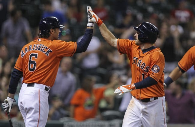 Houston Astros vs. Texas Rangers MLB Pick, Odds, Prediction 8/31/14