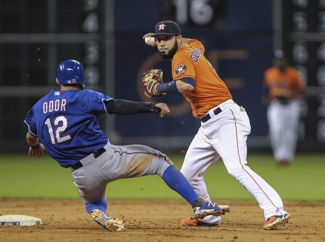 Houston Astros vs. Texas Rangers MLB Pick, Odds, Prediction - 8/29/14