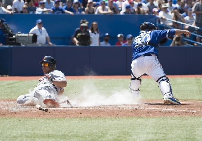 Toronto Blue Jays vs. Detroit Tigers MLB Pick, Odds, Prediction - 8/10/14