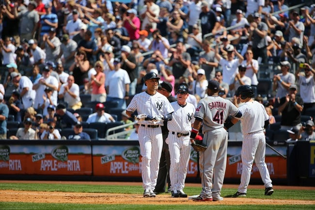 Cleveland Indians at New York Yankees MLB Pick, Odds, Prediction - 8/10/14