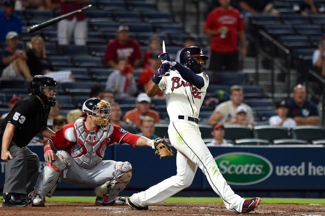 Atlanta Braves vs. Washington Nationals 8/10/14 MLB Pick, Odds, Prediction