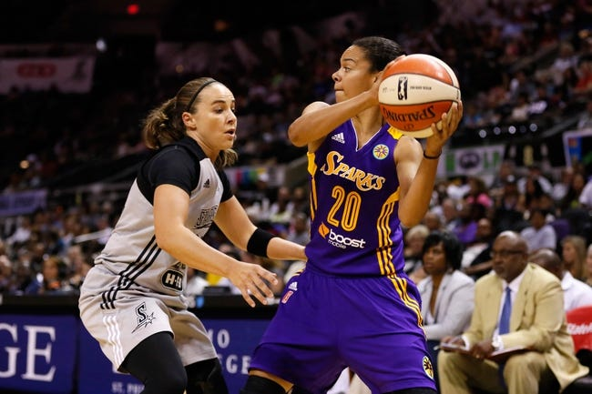 Atlanta Dream vs. Los Angeles Sparks - 7/16/15 WNBA Pick, Odds, and Prediction