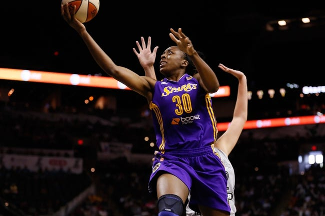 San Antonio Stars vs. Los Angeles Sparks - 7/2/15 WNBA Pick, Odds, and Prediction