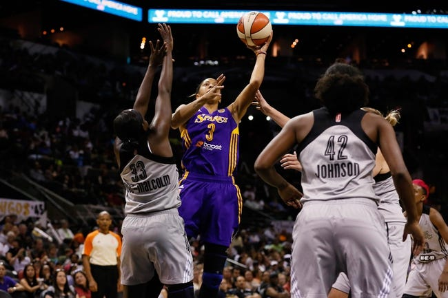 Tulsa Shock vs. San Antonio Stars - 7/17/15 WNBA Pick, Odds, and Prediction