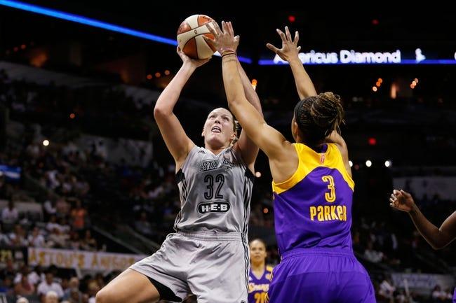 San Antonio Stars vs. Los Angeles Sparks - 8/30/15 WNBA Pick, Odds, and Prediction