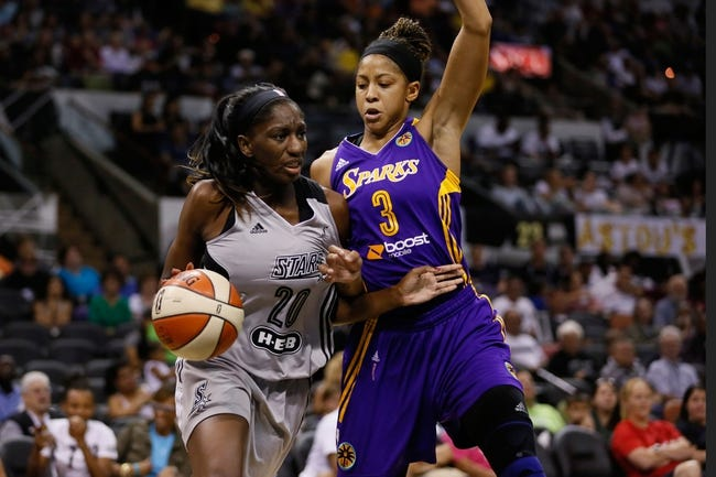 Washington Mystics vs. Los Angeles Sparks - 9/3/15 WNBA Pick, Odds, and Prediction
