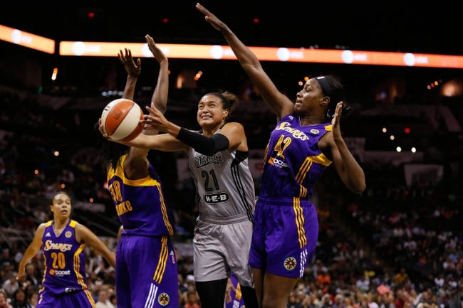 Minnesota Lynx vs. San Antonio Stars - 8/21/15 WNBA Pick, Odds, and Prediction