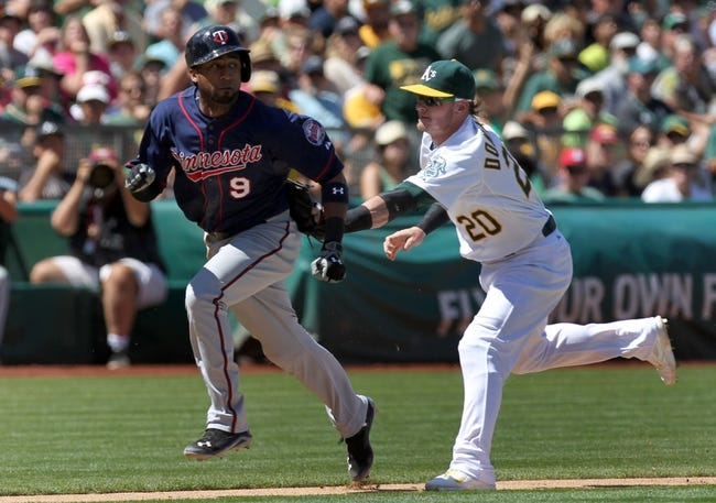 Twins vs. A's - 5/5/15 MLB Pick, Odds, and Prediction