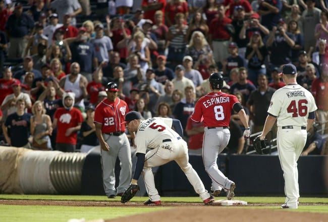 Washington Nationals vs. Atlanta Braves 9/8/14 MLB Pick, Odds, Prediction