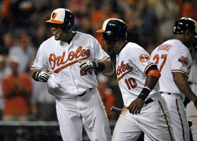 Baltimore Orioles vs. New York Yankees 8/12/14 MLB Pick, Odds, Prediction
