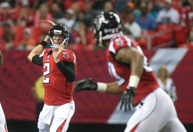 Atlanta Falcons at Houston Texans - 8/16/14