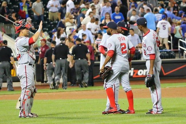 New York Mets vs. Washington Nationals MLB Pick, Odds, Prediction - 8/14/14