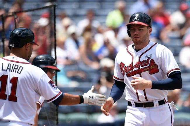 MLB | Oakland Athletics (73-47) at Atlanta Braves (61-59)