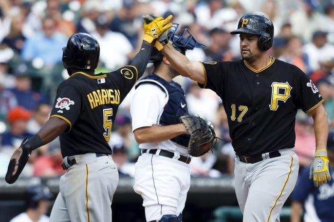Pirates vs. Tigers - 4/13/15 MLB Pick, Odds, and Prediction