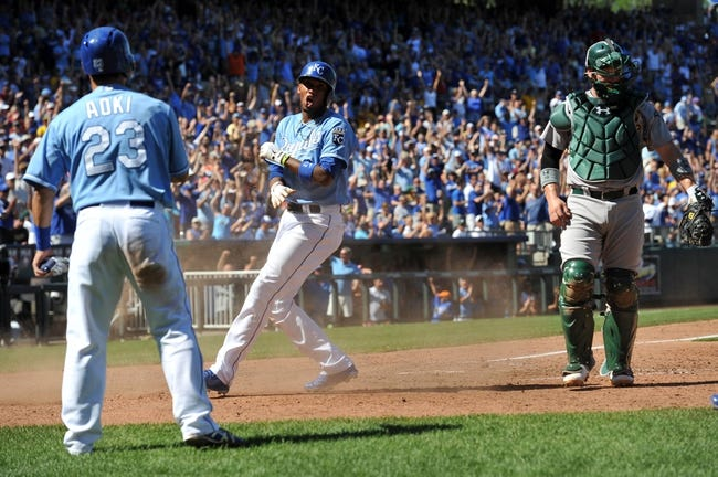 Oakland Athletics at Kansas City Royals - 9/30/14 2014 MLB AL Wild Card, Pick, Odds, Prediction