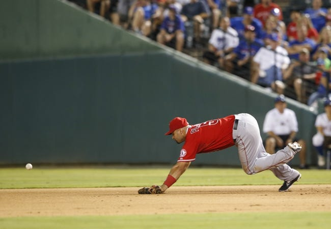 Texas Rangers vs. Los Angeles Angels MLB Pick, Odds, Prediction - 8/16/14