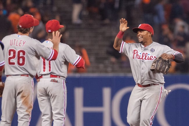 San Francisco Giants vs. Philadelphia Phillies Pick-Odds-Prediction - 8/16/14