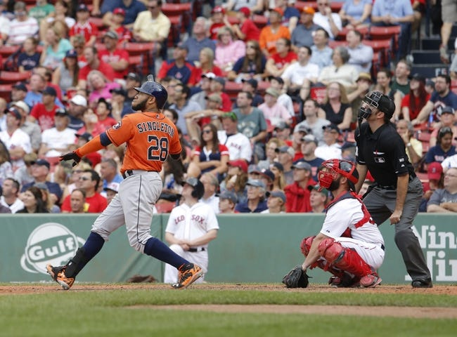 Red Sox vs. Astros - 7/3/15 MLB Pick, Odds, and Prediction