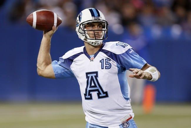 Montreal Alouettes vs. Toronto Argonauts CFL Pick, Odds, Prediction - 7/25/16