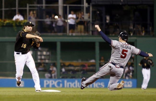 Pittsburgh Pirates vs. Atlanta Braves 8/20/14 MLB Pick, Odds, Prediction