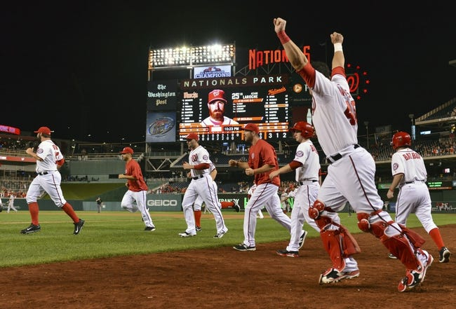 Washington Nationals vs. Arizona Diamondbacks 8/19/14 MLB Pick, Odds, Prediction