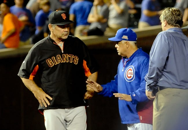 Chicago Cubs vs. San Francisco Giants MLB Pick, Odds, Prediction - 8/20/14