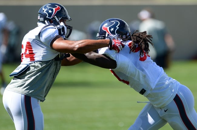 Houston Texans vs. Washington Redskins - 9/7/14 NFL Pick and Odds