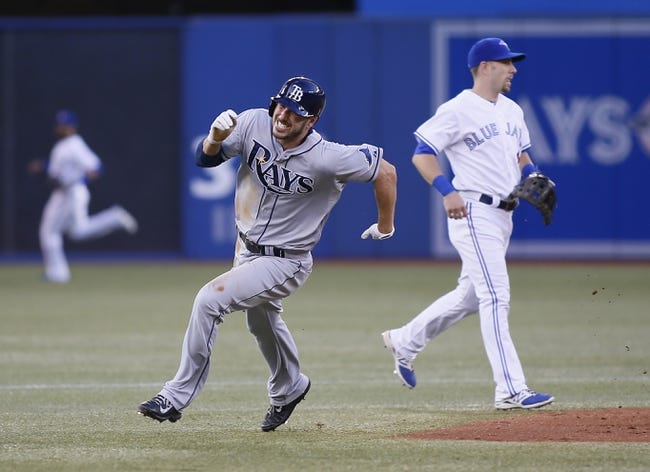 Toronto Blue Jays vs. Tampa Bay Rays MLB Pick, Odds, Prediction 8/23/14