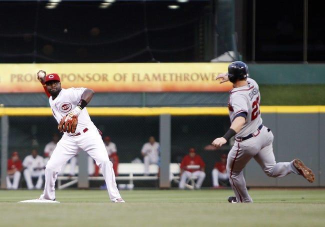 Cincinnati Reds vs. Atlanta Braves MLB Pick, Odds, Prediction 8/24/14