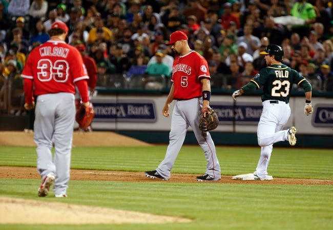 Oakland Athletics vs. Los Angeles Angels Pick-Odds-Prediction - 8/24/14