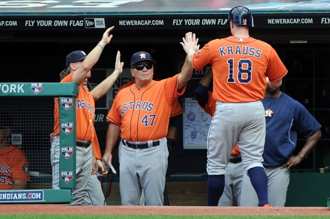 Houston Astros vs. Cleveland Indians Pick-Odds-Prediction - 9/15/14