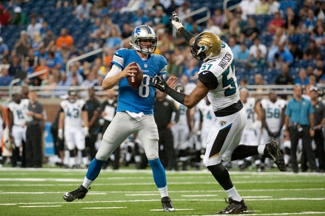 Lions vs. Jaguars - 8/28/15 NFL Pick, Odds, and Prediction