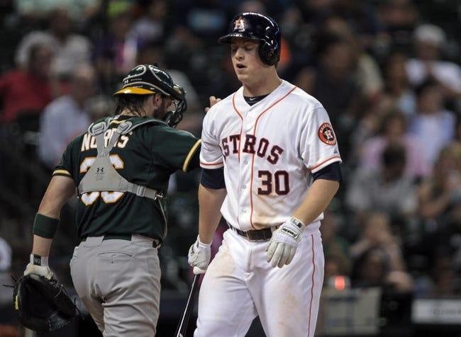Houston Astros vs. Oakland Athletics MLB Pick, Odds, Prediction - 8/26/14