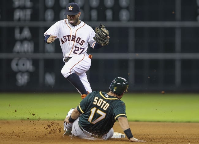 Oakland Athletics vs. Houston Astros 9/5/14 MLB Pick, Odds, Prediction