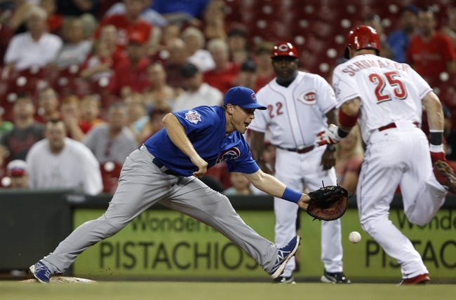 Cincinnati Reds vs. Chicago Cubs 8/28/14 Free MLB Pick and Odds