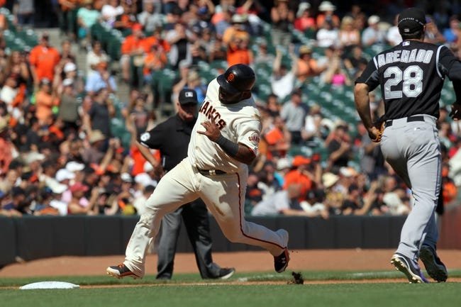 Colorado Rockies vs. San Francisco Giants MLB Pick, Odds, Prediction - 9/1/14