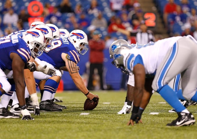 Buffalo Bills at Detroit Lions- 10/5/14