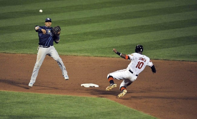 Tampa Bay Rays vs. Baltimore Orioles MLB Pick, Odds, Prediction - 9/5/14