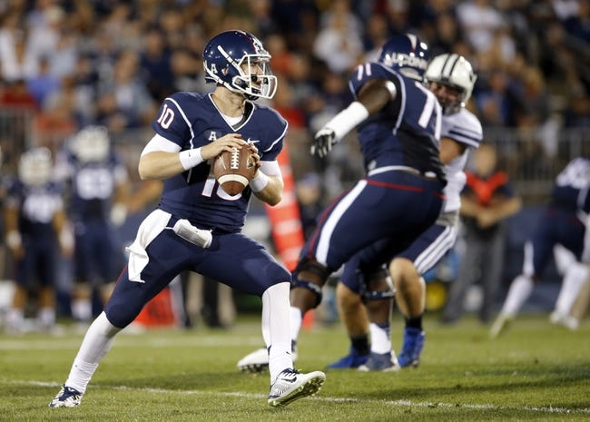 South Florida Bulls vs. Connecticut Huskies Pick-Odds-Prediction - 9/19/14