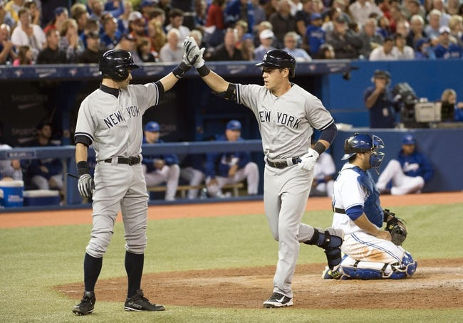Toronto Blue Jays vs. New York Yankees MLB Pick, Odds, Prediction 8/30/14