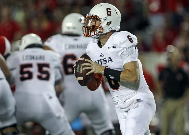 UTSA Roadrunners vs. Arizona Wildcats Pick-Odds-Prediction - 9/4/14