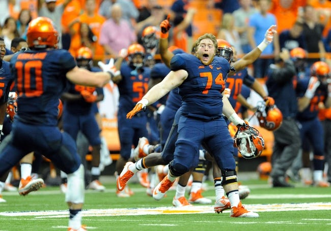 Syracuse Orange vs. Central Michigan Chippewas Pick-Odds-Prediction 9/13/14