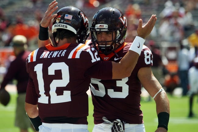 Virginia Tech Hokies vs. Ohio State Buckeyes Pick-Odds-Prediction 9/6/14