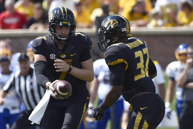 Missouri Tigers vs. Central Florida Knights 9/13/14 College Football Pick and Odds