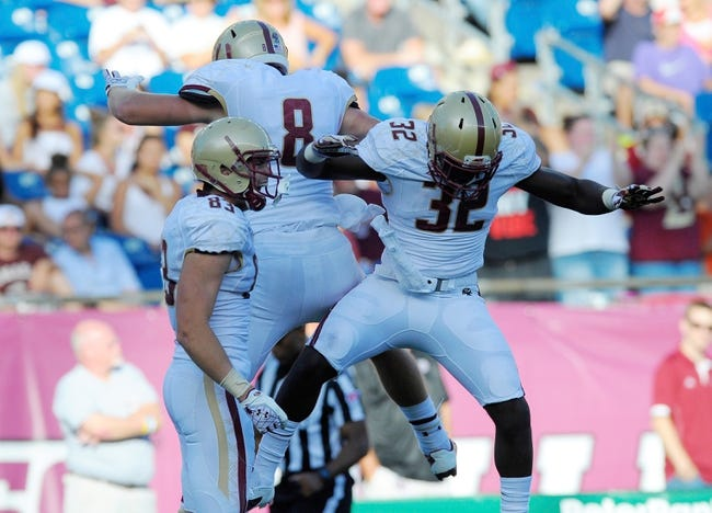 Pittsburgh Panthers at Boston College Eagles CFB Pick, Odds, Prediction - 9/5/14